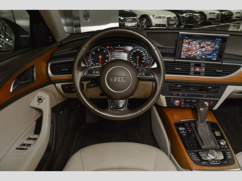 Audi A6 Avant 3.0 TDI Quattro 272 Gris occasion à Beaupuy - photo n°2