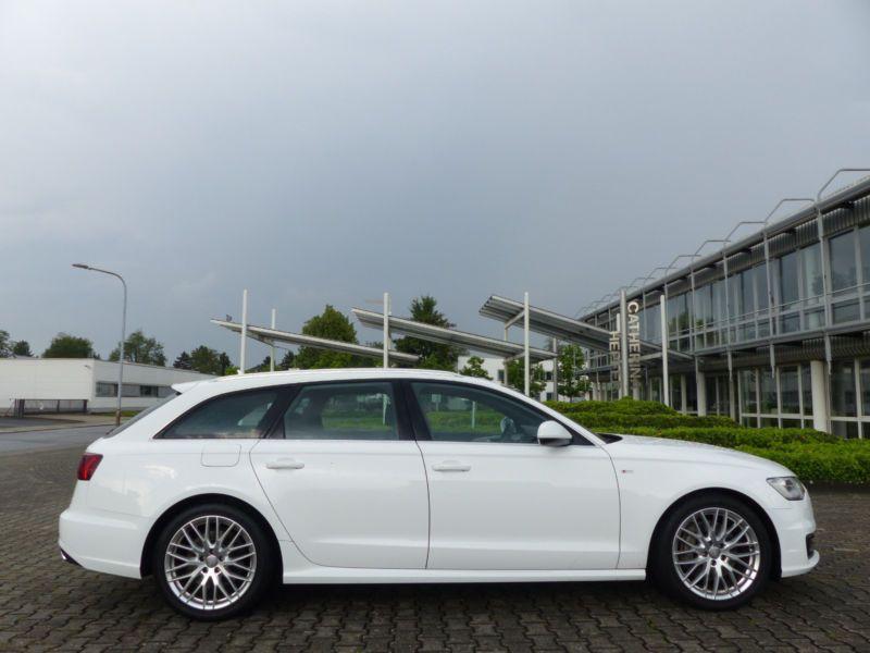Audi A6 Avant 3.0 TDI S-Line 218 Blanc occasion à Beaupuy - photo n°6