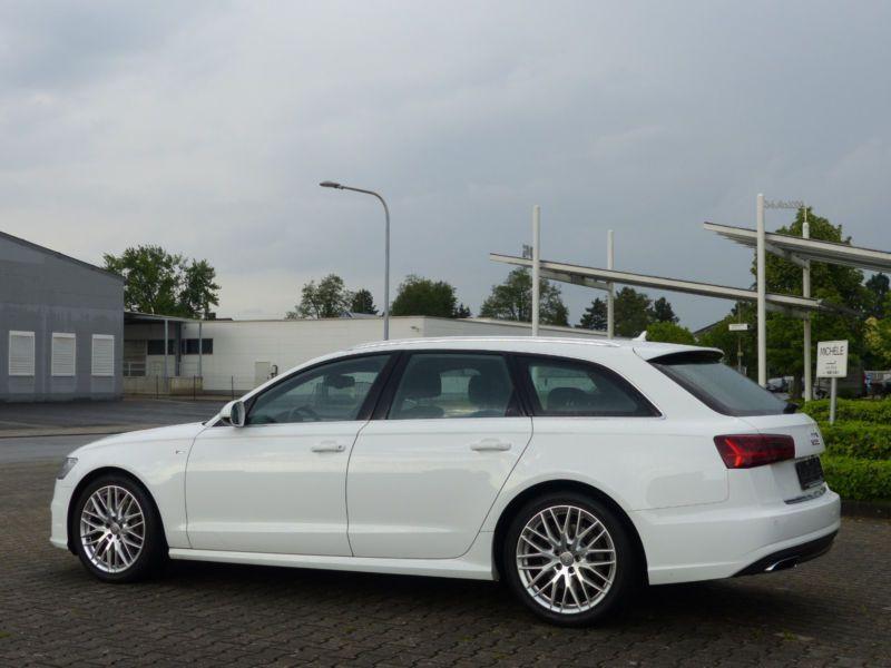 Audi A6 Avant 3.0 TDI S-Line 218 Blanc occasion à Beaupuy - photo n°7