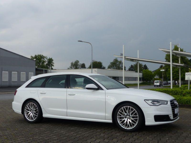 Audi A6 Avant 3.0 TDI S-Line 218 Blanc occasion à Beaupuy - photo n°5