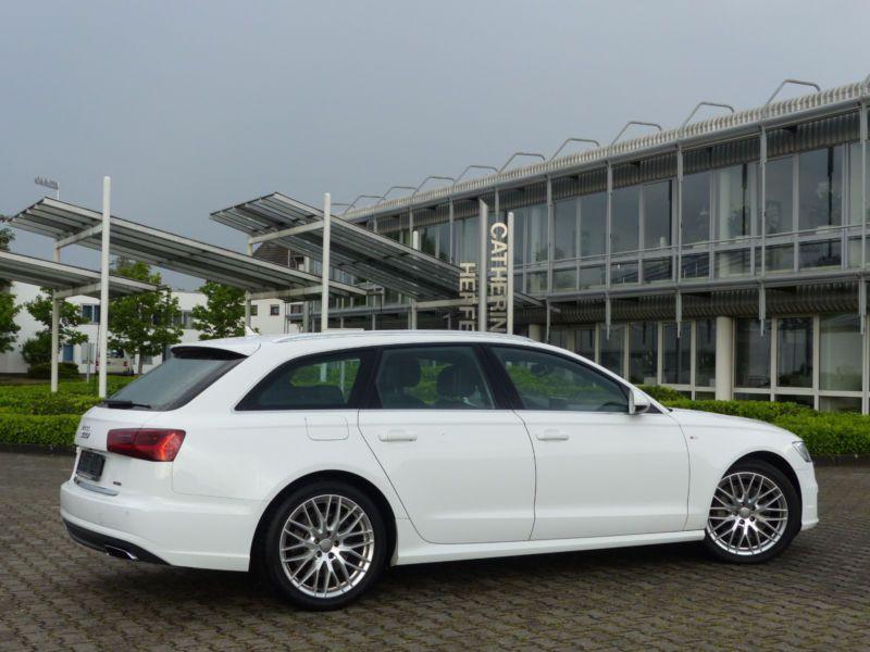 Audi A6 Avant 3.0 TDI S-Line 218 Blanc occasion à Beaupuy - photo n°3