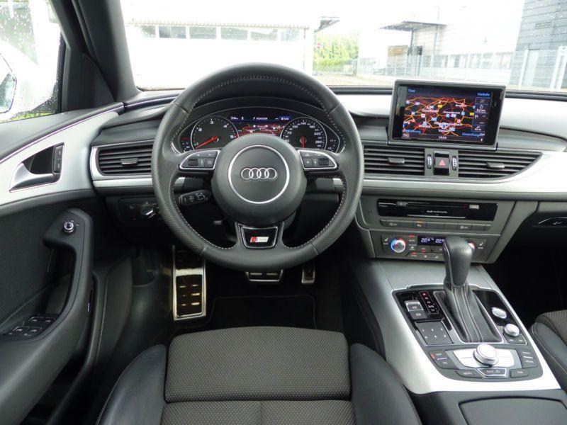 Audi A6 Avant 3.0 TDI S-Line 218 Blanc occasion à Beaupuy - photo n°2