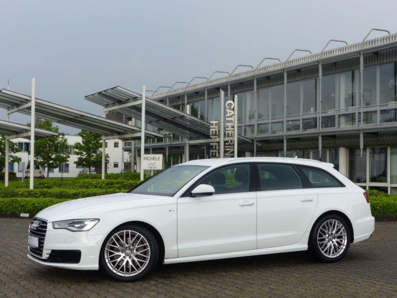 Audi A6 Avant 3.0 TDI S-Line 218 Blanc occasion à Beaupuy