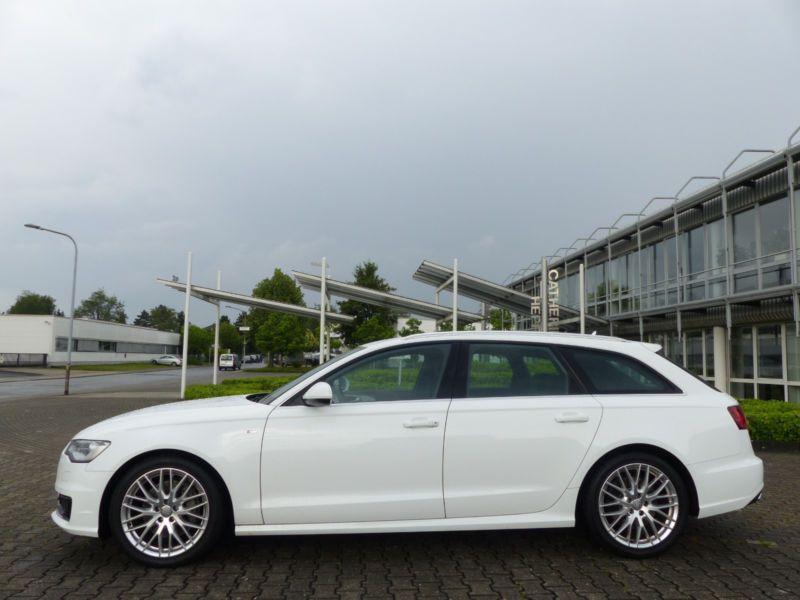 Audi A6 Avant 3.0 TDI S-Line 218 Blanc occasion à Beaupuy - photo n°8