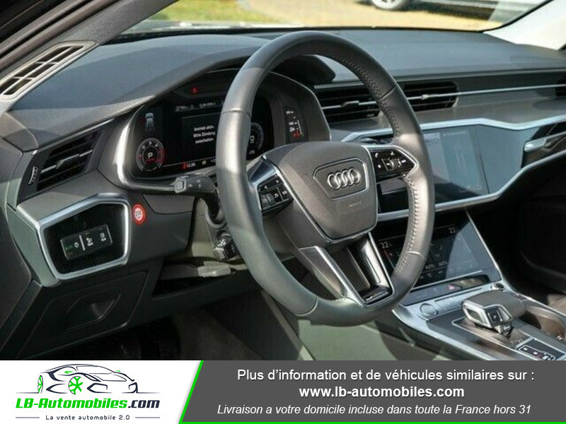 Audi A6 Avant 35 TDI 163 S tronic Noir occasion à Beaupuy - photo n°11
