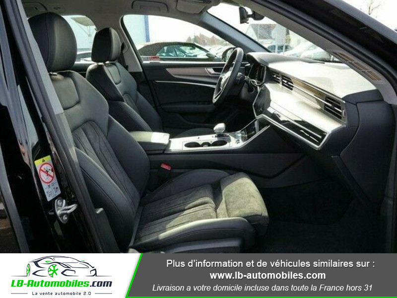 Audi A6 Avant 35 TDI 163 S tronic Noir occasion à Beaupuy - photo n°16