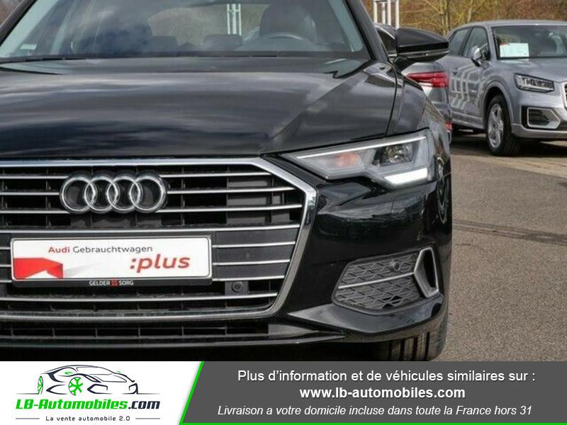 Audi A6 Avant 35 TDI 163 S tronic Noir occasion à Beaupuy - photo n°5