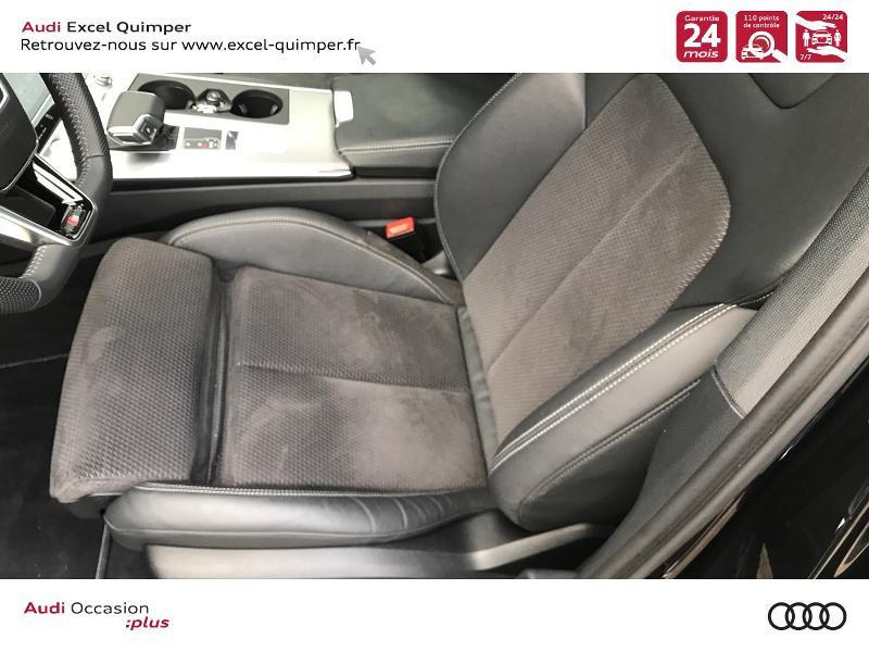 Audi A6 Avant 40 TDI 204ch S line S tronic 7 126g Noir occasion à Quimper - photo n°7