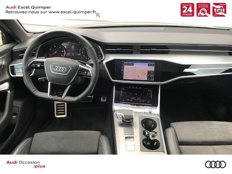 Audi A6 Avant 40 TDI 204ch S line S tronic 7 126g Noir occasion à Quimper - photo n°6