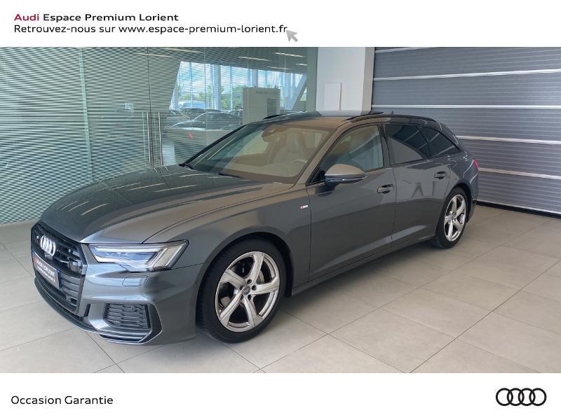 Audi A6 Avant 40 TDI 204ch S line S tronic 7 Gris occasion à Lanester