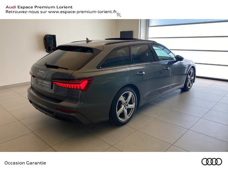 Audi A6 Avant 40 TDI 204ch S line S tronic 7 Gris occasion à Lanester - photo n°4