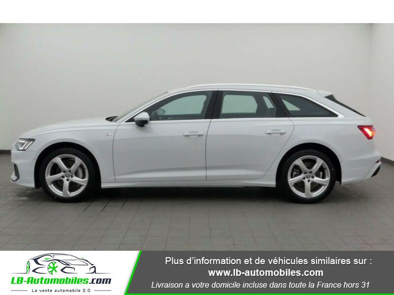 Audi A6 Avant 45 TFSI 245 S-tronic Blanc occasion à Beaupuy - photo n°6