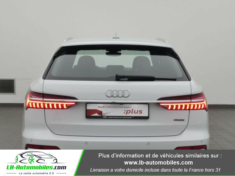 Audi A6 Avant 45 TFSI 245 S-tronic Blanc occasion à Beaupuy - photo n°3
