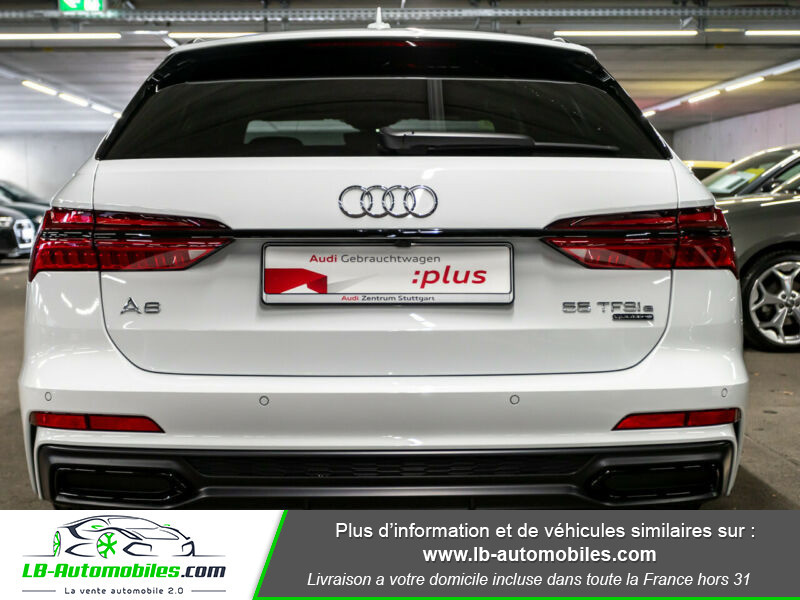 Audi A6 Avant 55 TFSIe 367 ch S tronic Blanc occasion à Beaupuy - photo n°17