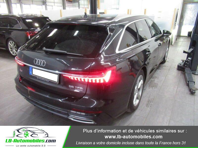 Audi A6 Avant 55 TFSIe 367 ch S tronic Gris occasion à Beaupuy - photo n°3
