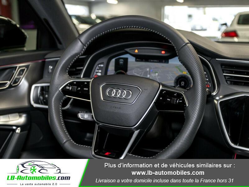 Audi A6 Avant 55 TFSIe 367 ch S tronic Blanc occasion à Beaupuy - photo n°12