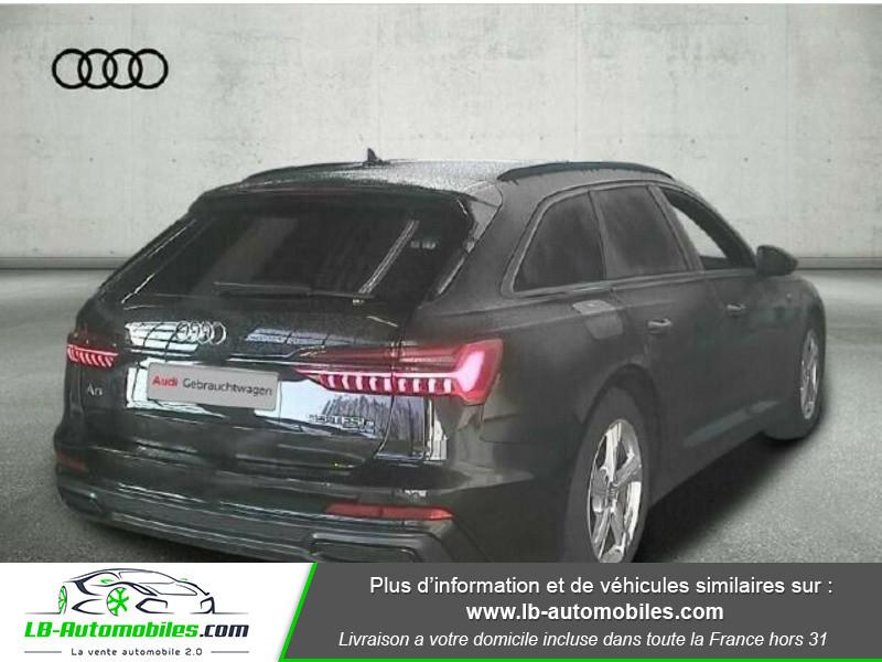 Audi A6 Avant 55 TFSIe 367 ch S tronic Noir occasion à Beaupuy - photo n°3