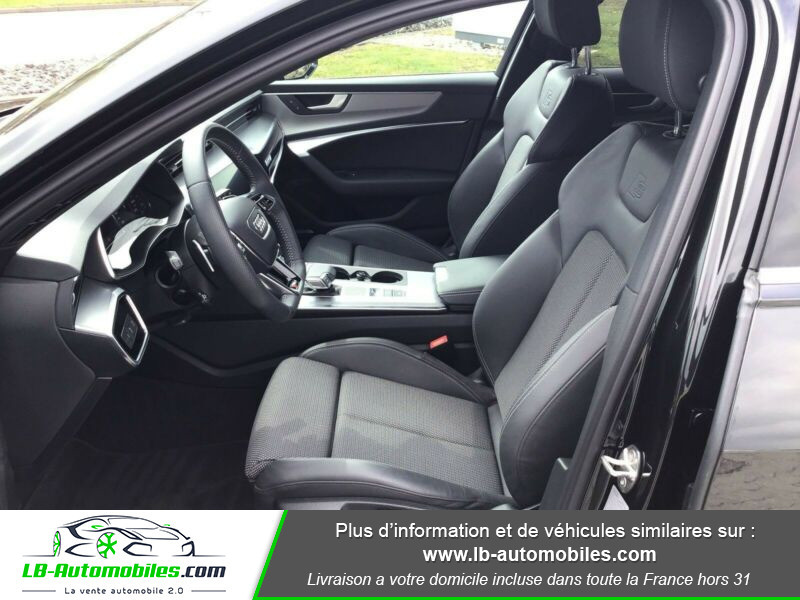 Audi A6 Avant 55 TFSIe 367 ch S tronic Gris occasion à Beaupuy - photo n°12