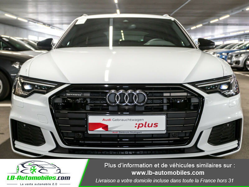 Audi A6 Avant 55 TFSIe 367 ch S tronic Blanc occasion à Beaupuy - photo n°14