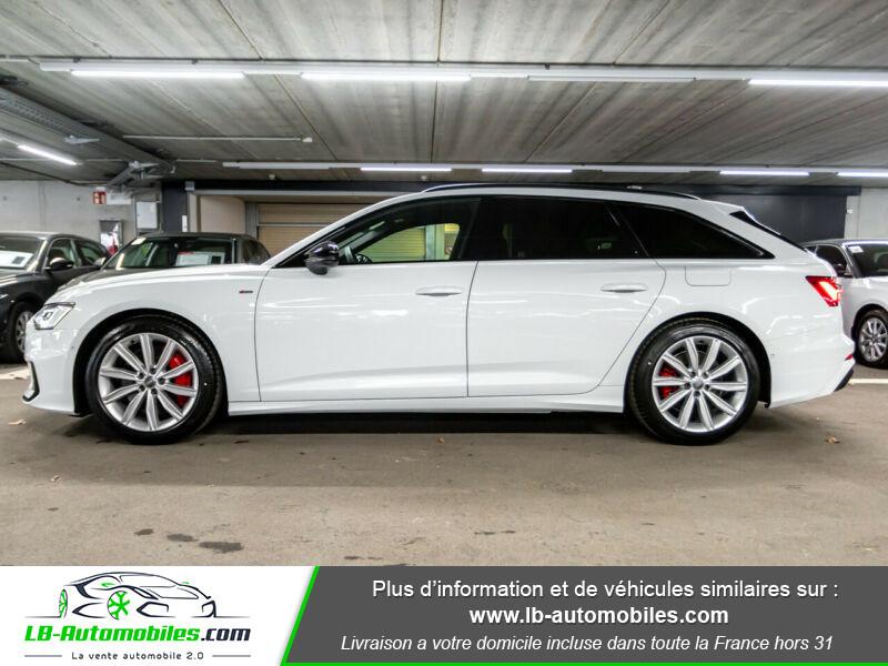 Audi A6 Avant 55 TFSIe 367 ch S tronic Blanc occasion à Beaupuy - photo n°18