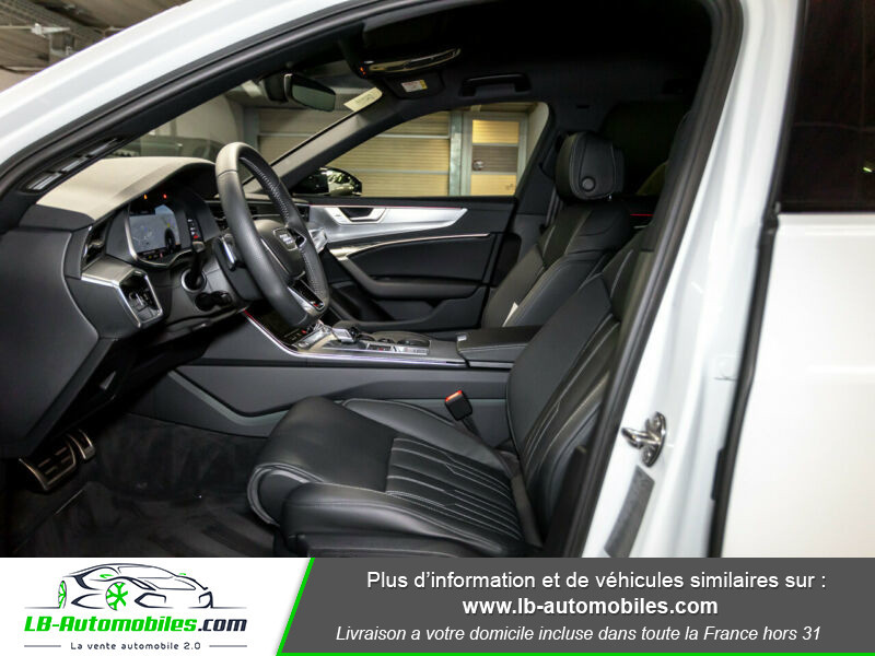 Audi A6 Avant 55 TFSIe 367 ch S tronic Blanc occasion à Beaupuy - photo n°11