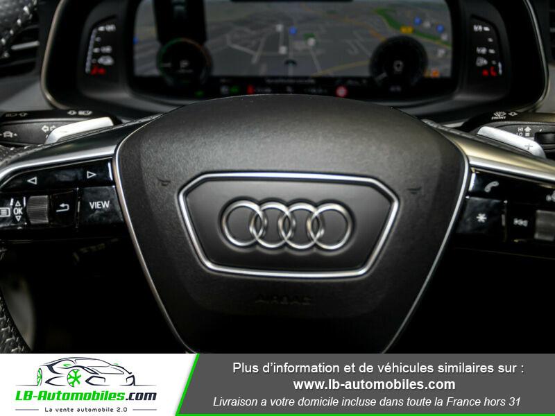 Audi A6 Avant 55 TFSIe 367 ch S tronic Blanc occasion à Beaupuy - photo n°8