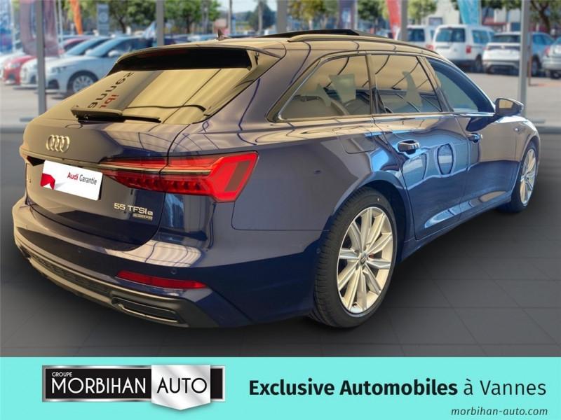 Audi A6 Avant A6 Avant 55 TFSIe 367 ch S tronic 7 Quattro  occasion à Vannes - photo n°2