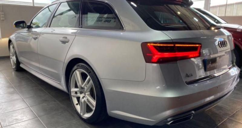 Audi A6 Avant V6 3.0 TDI 272 QUATTRO S LINE S TRONIC Gris occasion à COURNON D'AUVERGNE - photo n°4