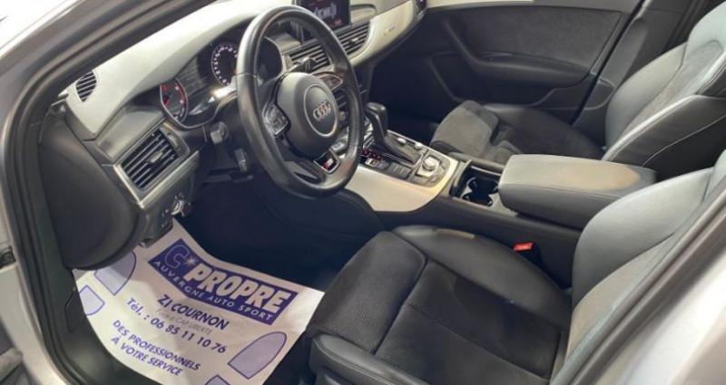Audi A6 Avant V6 3.0 TDI 272 QUATTRO S LINE S TRONIC Gris occasion à COURNON D'AUVERGNE - photo n°5