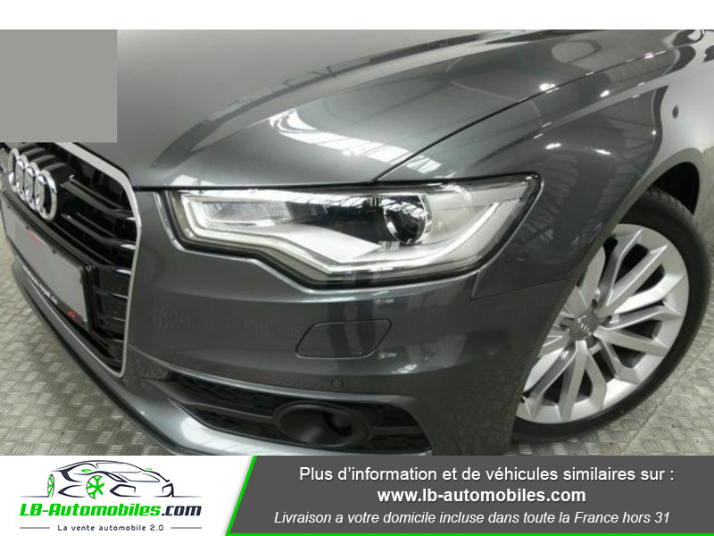 Audi A6 Avant V6 3.0 TDI DPF 204 Quattro Gris occasion à Beaupuy - photo n°10