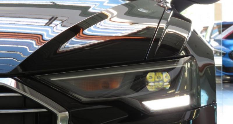 Audi A6 (5E GENERATION) 40 TDI 204 V Design S Tronic Noir occasion à Tours - photo n°6