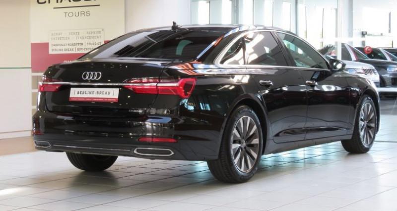 Audi A6 (5E GENERATION) 40 TDI 204 V Design S Tronic Noir occasion à Tours - photo n°2