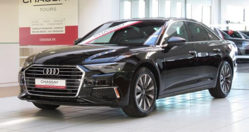 Audi A6 (5E GENERATION) 40 TDI 204 V Design S Tronic Noir occasion à Tours