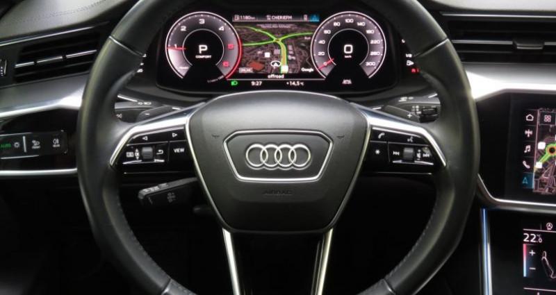 Audi A6 (5E GENERATION) 40 TDI 204 V Design S Tronic Gris occasion à Tours - photo n°7