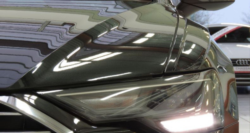 Audi A6 (5E GENERATION) 40 TDI 204 V Design S Tronic Gris occasion à Tours - photo n°6