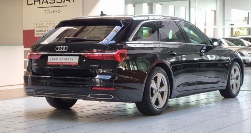 Audi A6 (5E GENERATION) AVANT 40 TDI 204 V AVANT Sport S Tronic Noir occasion à Tours - photo n°2