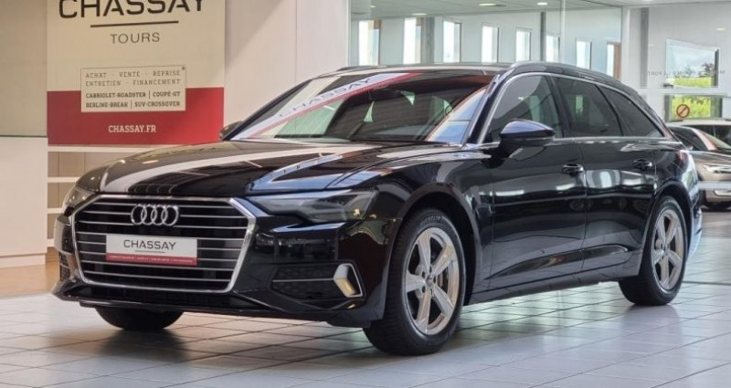 Audi A6 (5E GENERATION) AVANT 40 TDI 204 V AVANT Sport S Tronic Noir occasion à Tours
