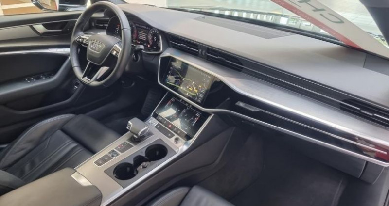 Audi A6 (5E GENERATION) AVANT 40 TDI 204 V AVANT Sport S Tronic Noir occasion à Tours - photo n°3