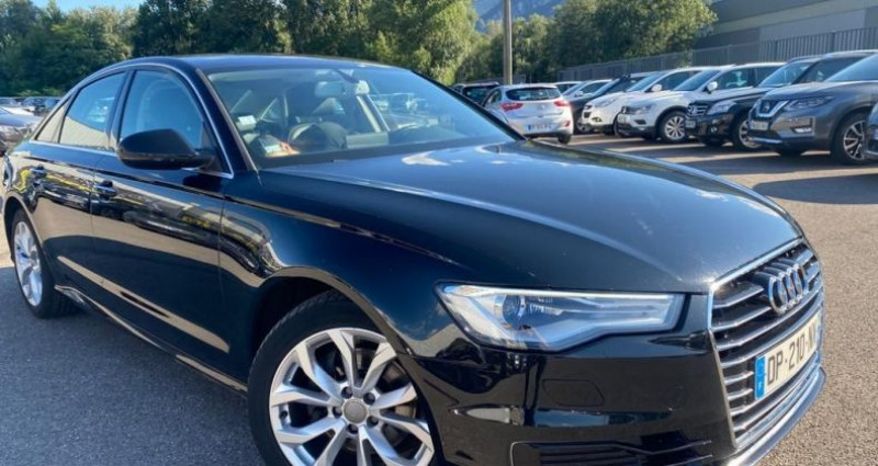 Audi A6 2.0 TDI 190CH ULTRA AMBITION LUXE S TRONIC 7 Noir occasion à VOREPPE - photo n°2