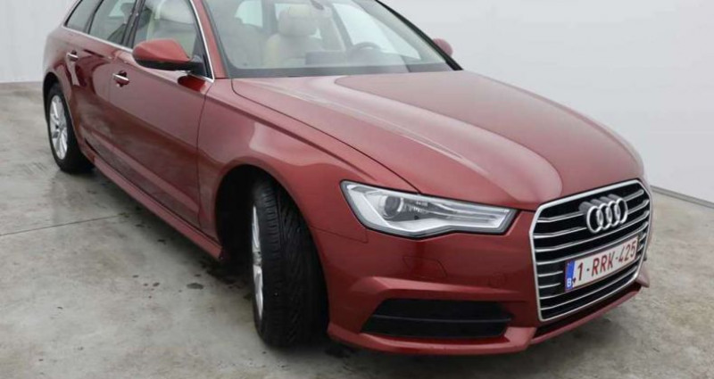 Audi A6 2.0 TDi Rouge occasion à QUEVAUCAMPS - photo n°3