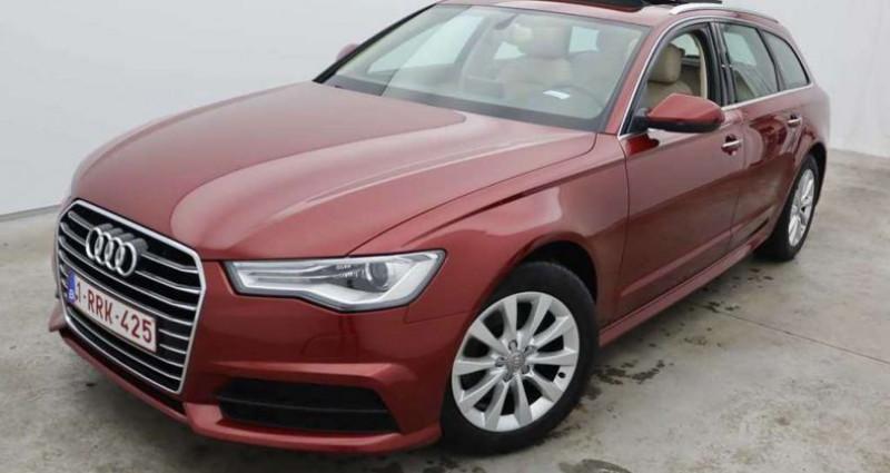 Audi A6 2.0 TDi Rouge occasion à QUEVAUCAMPS - photo n°2