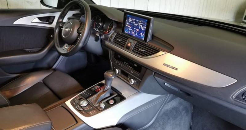 Audi A6 3.0 TDI 204 CV SLINE QUATTRO BVA Noir occasion à Charentilly - photo n°7