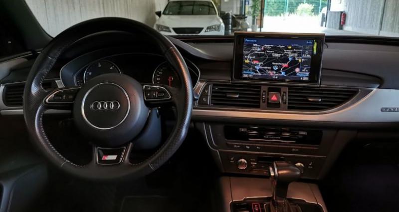 Audi A6 3.0 TDI 204 CV SLINE QUATTRO BVA Noir occasion à Charentilly - photo n°6