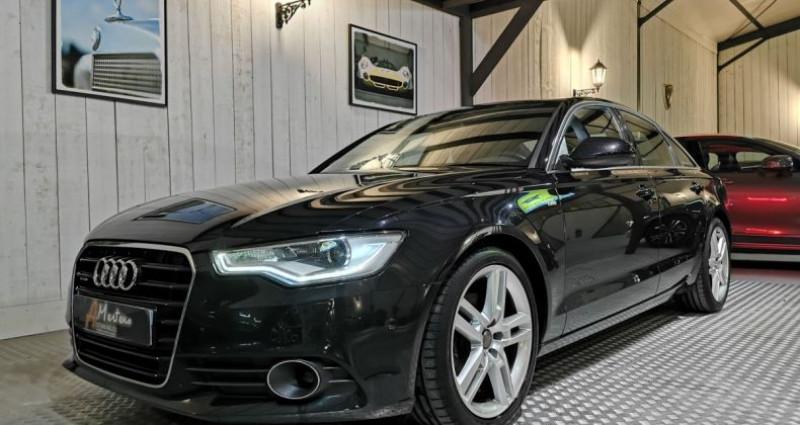 Audi A6 3.0 TDI 204 CV SLINE QUATTRO BVA Noir occasion à Charentilly - photo n°2
