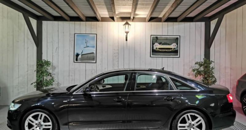 Audi A6 3.0 TDI 204 CV SLINE QUATTRO BVA Noir occasion à Charentilly