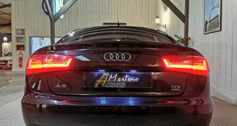 Audi A6 3.0 TDI 204 CV SLINE QUATTRO BVA Noir occasion à Charentilly - photo n°4