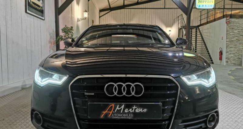 Audi A6 3.0 TDI 204 CV SLINE QUATTRO BVA Noir occasion à Charentilly - photo n°3