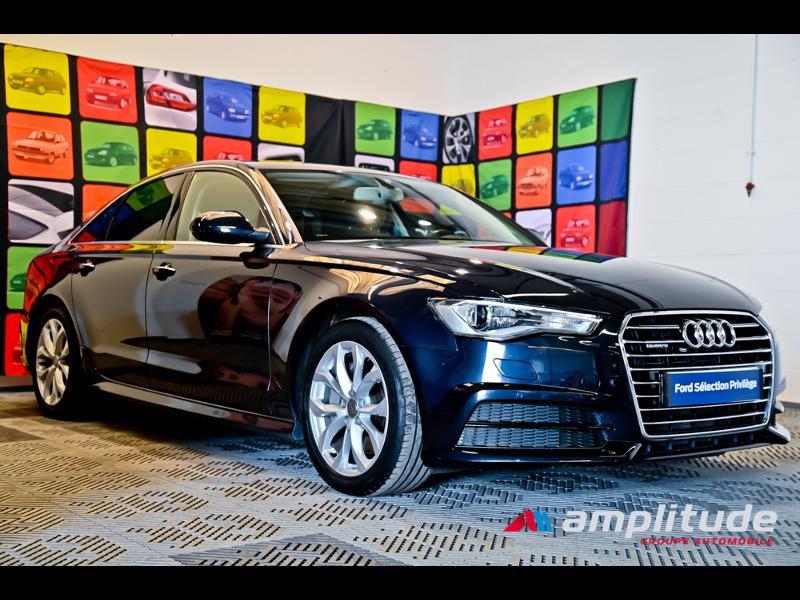 Audi A6 3.0 V6 TDI 272ch Ambition Luxe quattro S tronic 7 Bleu occasion à Dijon