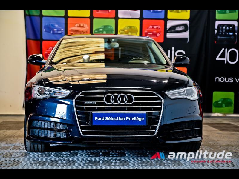 Audi A6 3.0 V6 TDI 272ch Ambition Luxe quattro S tronic 7 Bleu occasion à Dijon - photo n°2