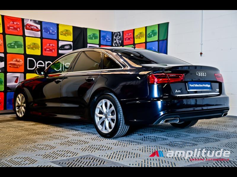 Audi A6 3.0 V6 TDI 272ch Ambition Luxe quattro S tronic 7 Bleu occasion à Dijon - photo n°4